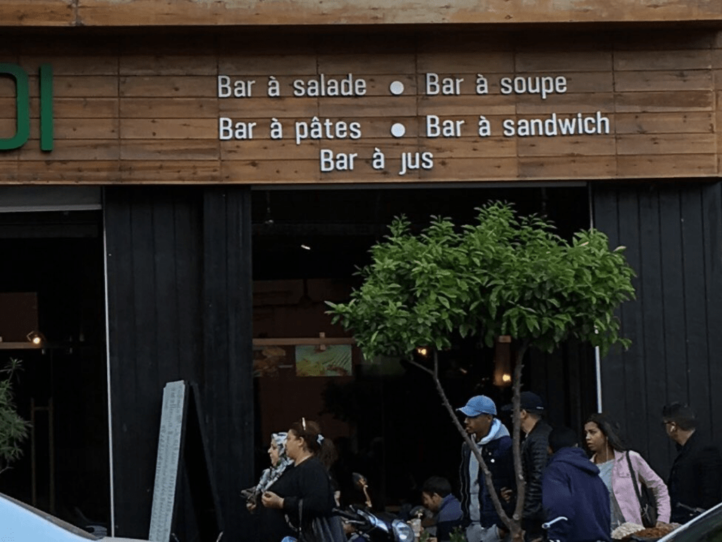 Plusieurs bars en un, à Marrakech