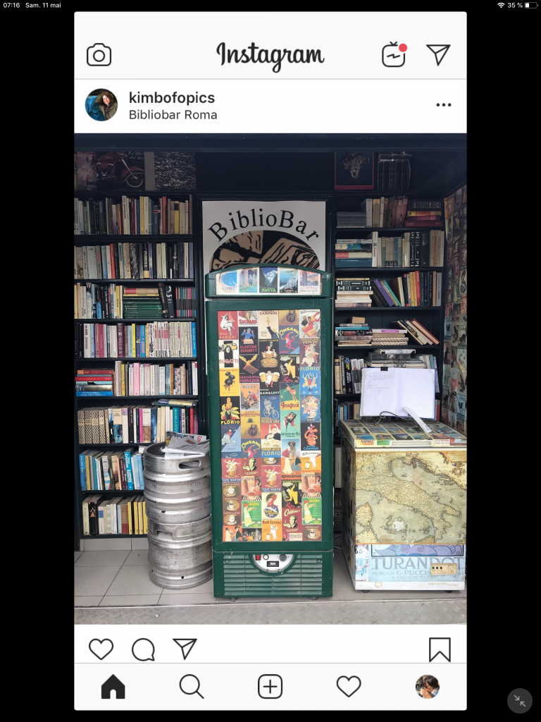 BiblioBar, Rome, Italie