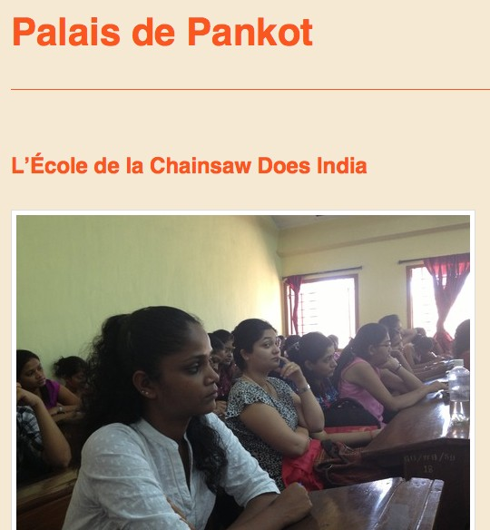 La littérature québécoise en Inde