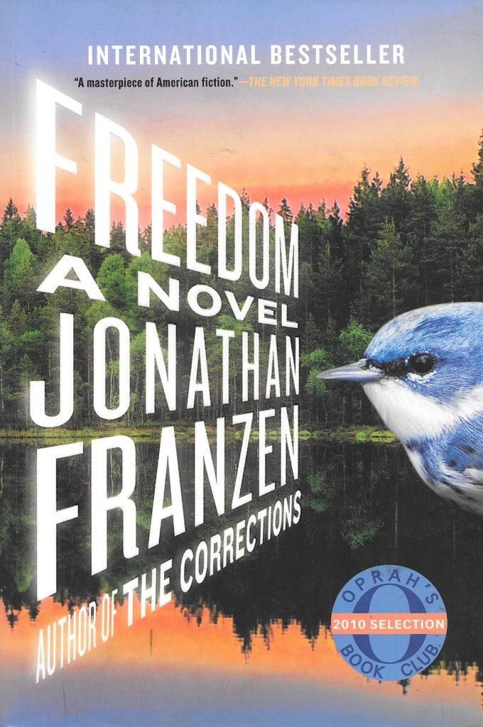 Jonathan Franzen, Freedom, 2010, couverture