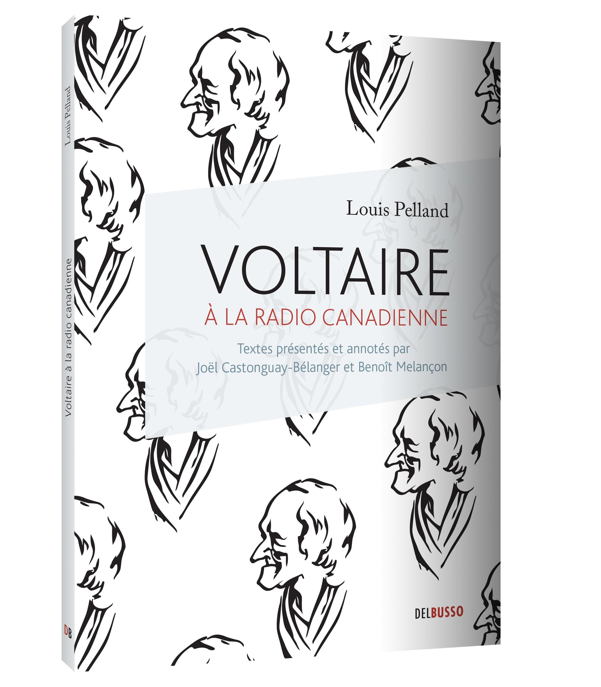 Voltaire à la radio canadienne (2013), couverture