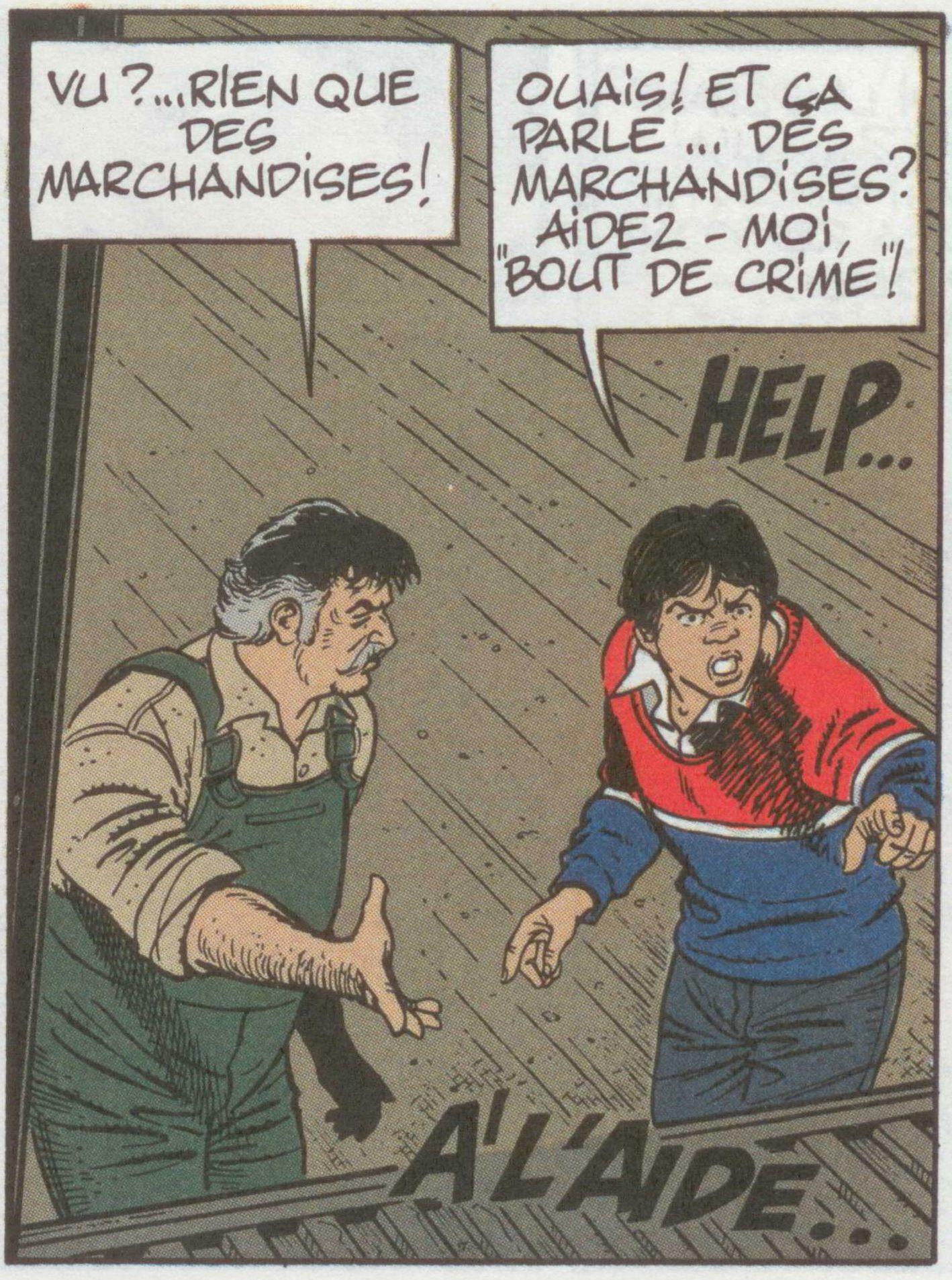 Duchateau et Denayer, les Casseurs, 1988