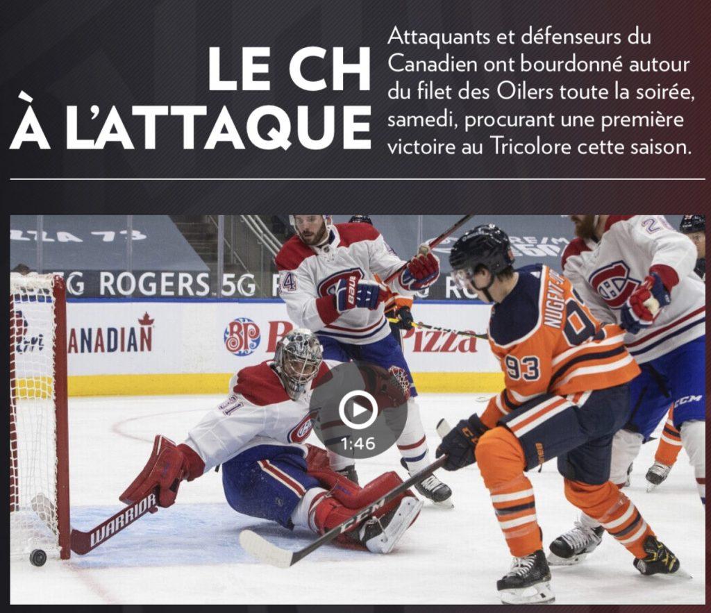 Manchette de la Presse+, 17 janvier 2021