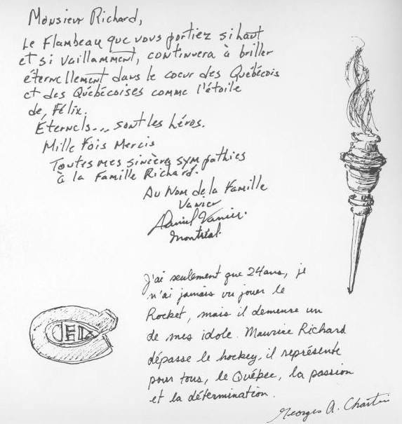 Extrait de Maurice Richard. Paroles d'un peuple (2008)