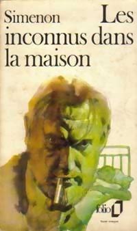 Simenon, les Inconnus dans la maison, couverture