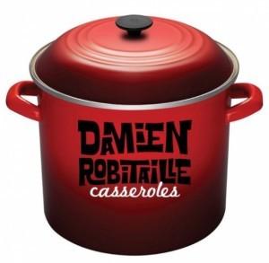 «Casseroles», chanson de Damien Robitaille