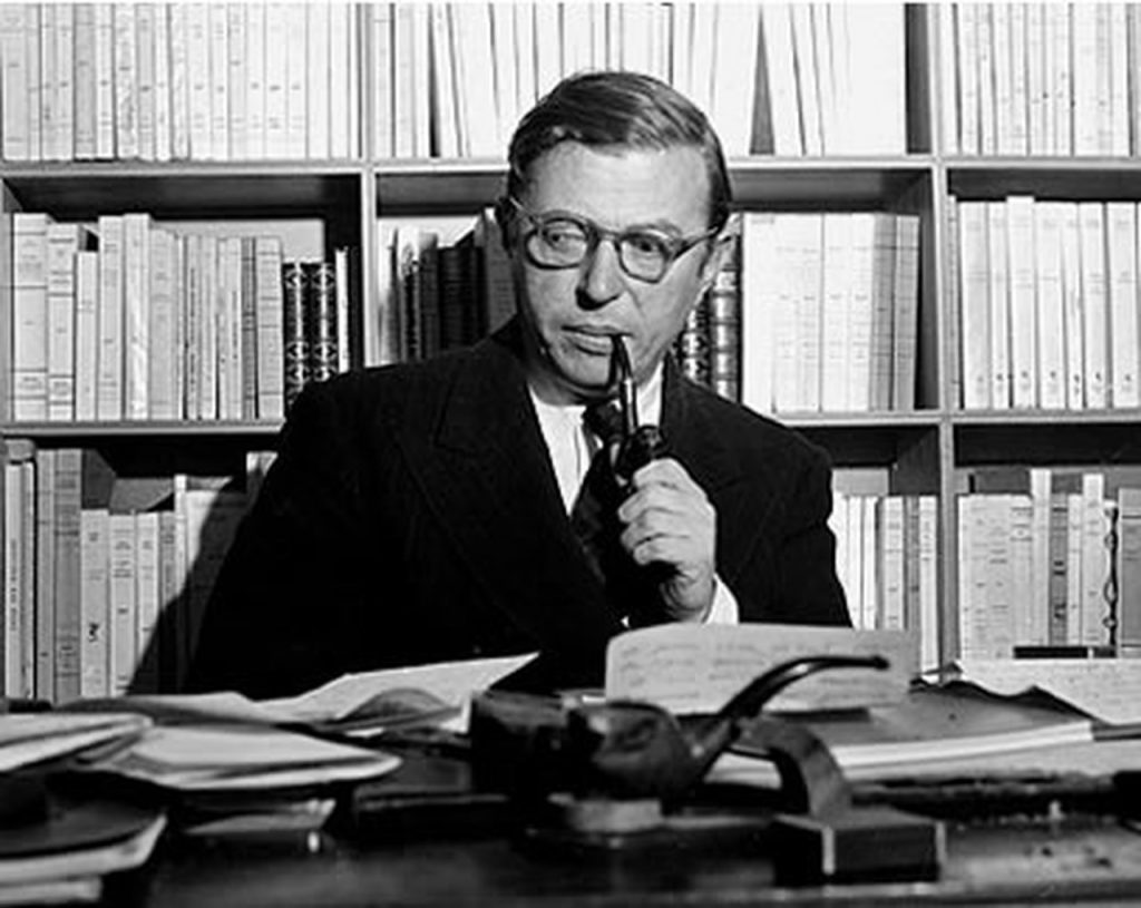 Portrait de Jean-Paul Sartre