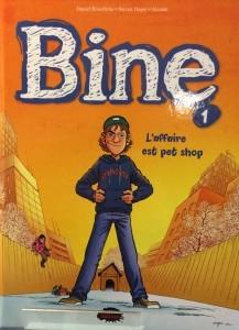 Couverture du premier album de la série «Bine» (2015)
