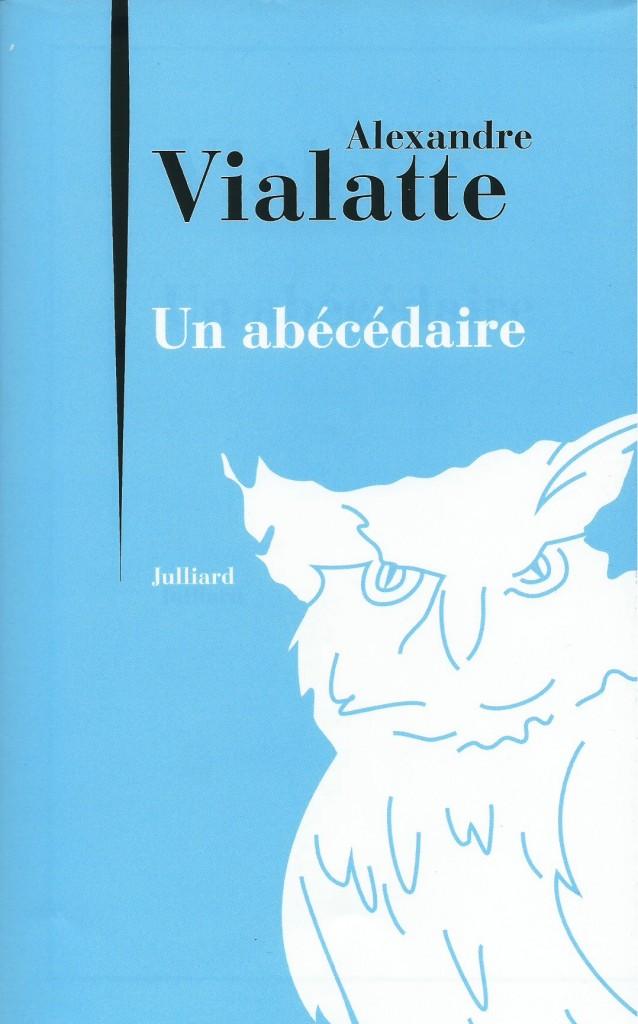Alexandre Vialatte, Un abécédaire, 2014, couverture