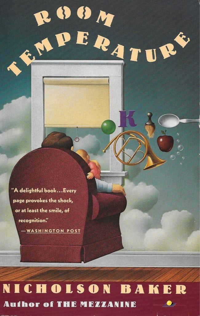 Nicholson Baker, Room Temperature, 1991, couverture