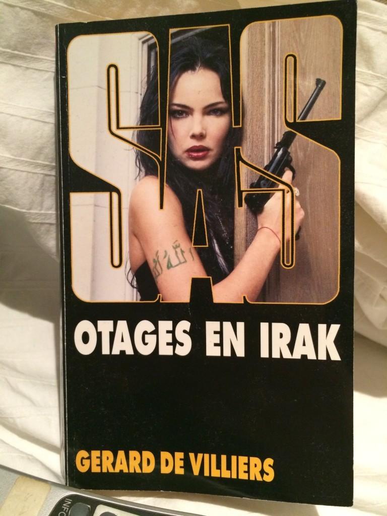 Gérard de Villiers, Otages en Irak, 2015, couverture