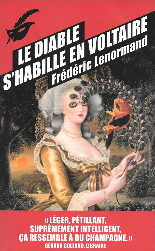 Frédéric Lenormand, Le diable s'habille en Voltaire, 2014, couverture