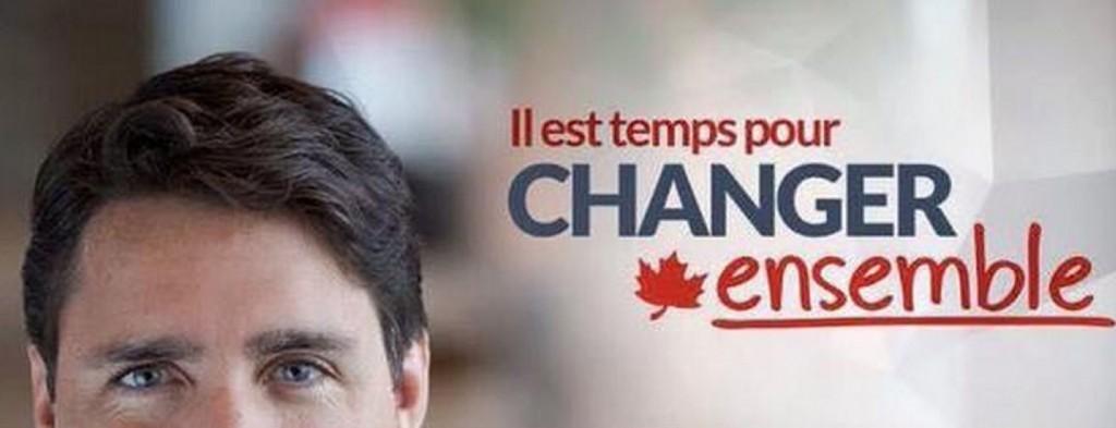 Publicité du Parti libéral du Canada, août 2015