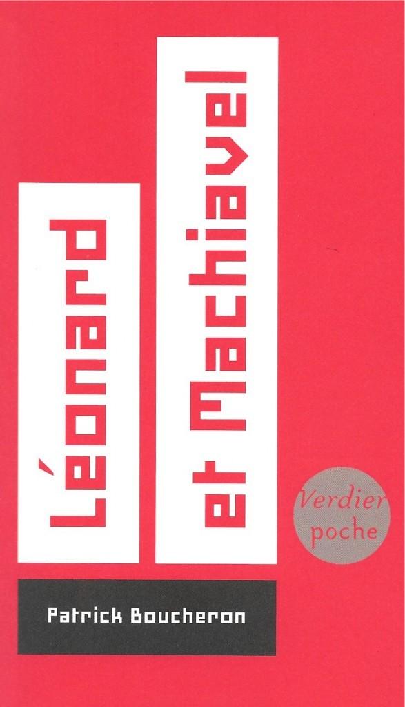 Patrick Boucheron, Léonard et Machiavel, 2008, couverture