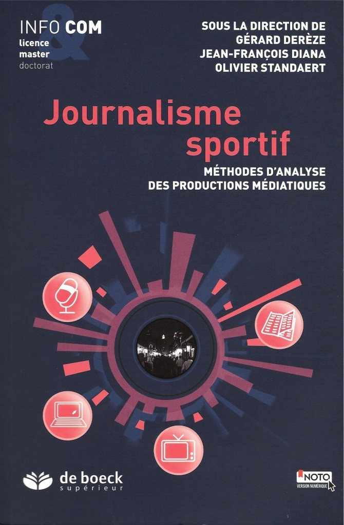 Ouvrage collectif, Journalisme sportif, 2015, couverture