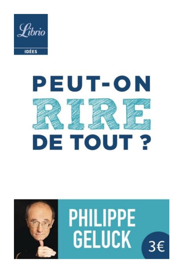 Philippe Geluck, Peut-on rire de tout ?, 2015, couverture