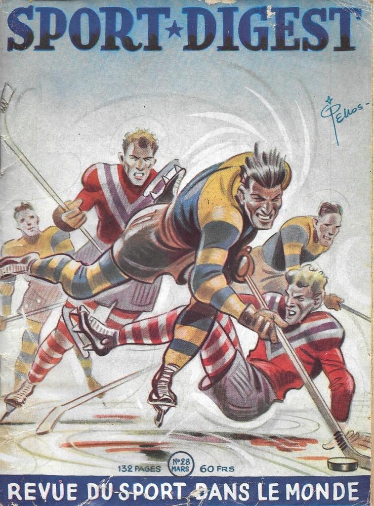 Sport-digest. Revue du sport dans le monde, 28, mars 1951, couverture