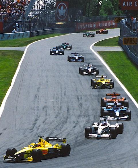 Paul Lannuier (Sussex, NJ, USA), Premier tour du Grand prix de formule un du Canada 2001