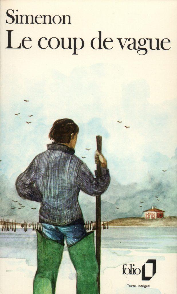 Georges Simenon, le Coup de Vague, éd. de 1978, couverture