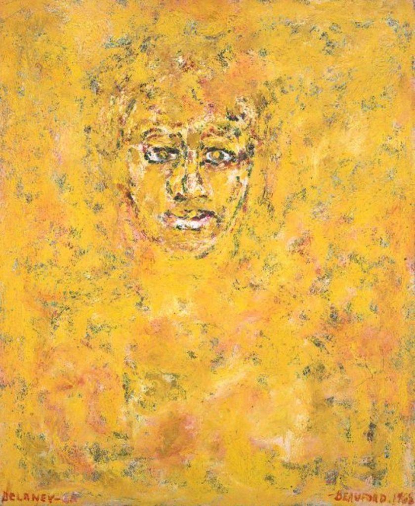 Portrait d'Ella Fitzgerald par Beauford Delaney (1968)