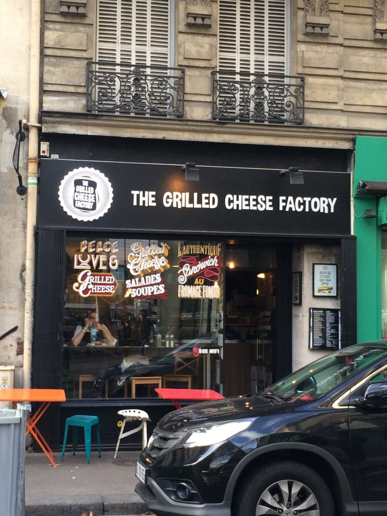 The Grilled Cheese Factory, Paris, novembre 2016