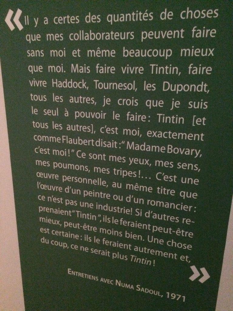 Hergé parlant de Flaubert à Numa Sadoul en 1971