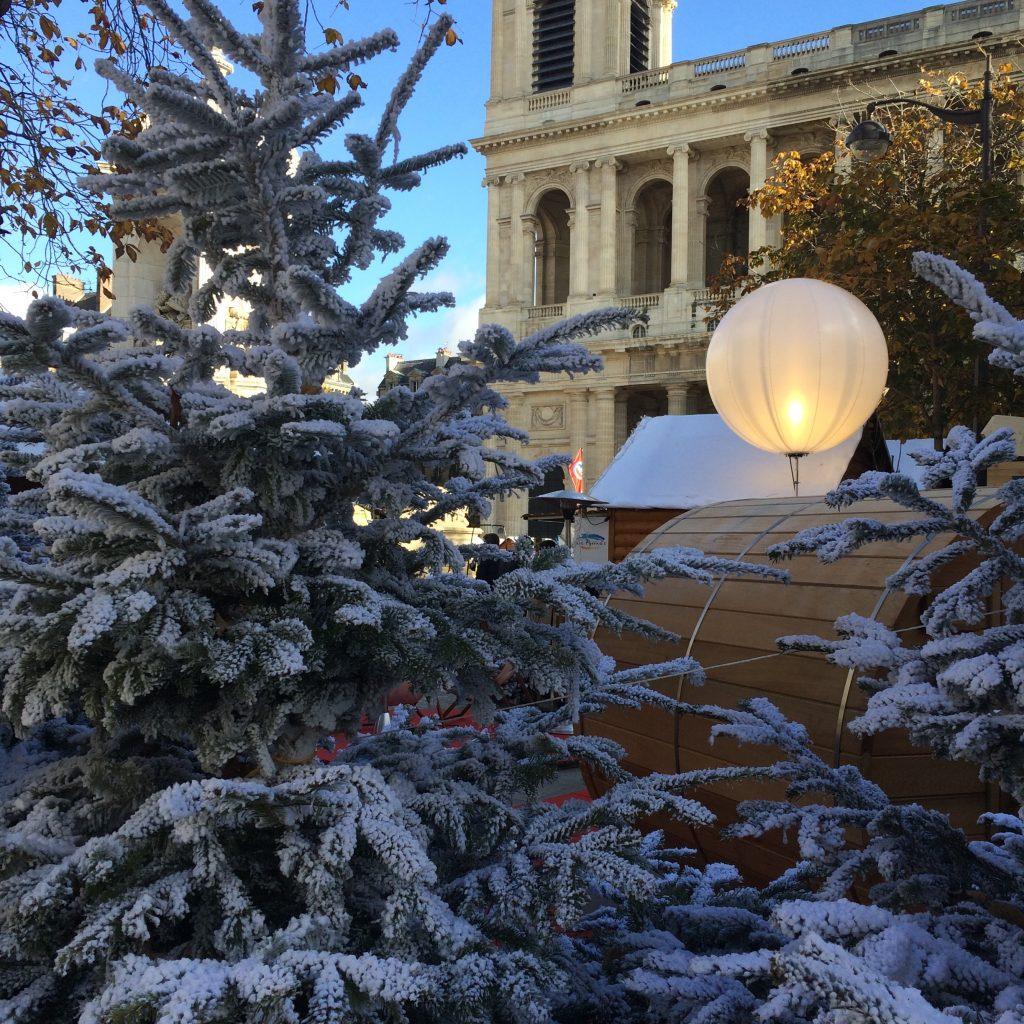 Foire de Noël, place Saint-Sulpice, novembre 2016