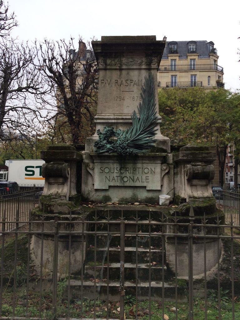 Place Denfert-Rochereau, Paris, novembre 2016