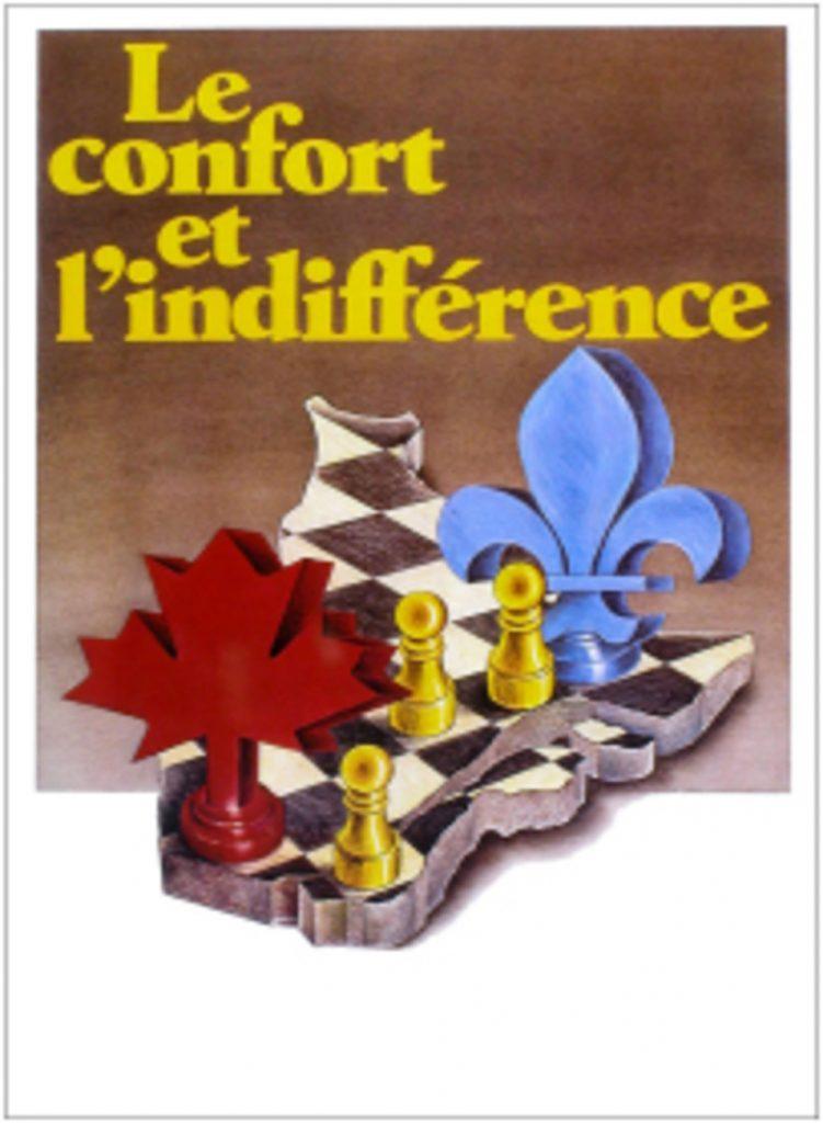 Denys Arcand, le Confort et l'indifférence, film, 1981, affiche