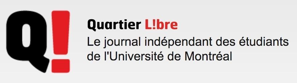 Logo du journal étudiant le Quartier libre