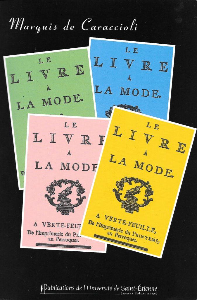 Caraccioli, le Livre à la mode, éd. de 2005, couverture