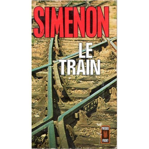 Simenon, le Train, 1961, couverture
