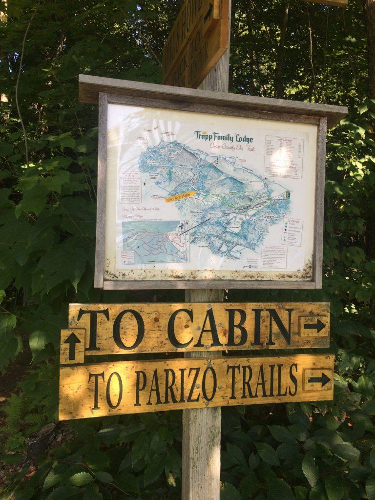 Parizo Trails, Stowe, Vermont