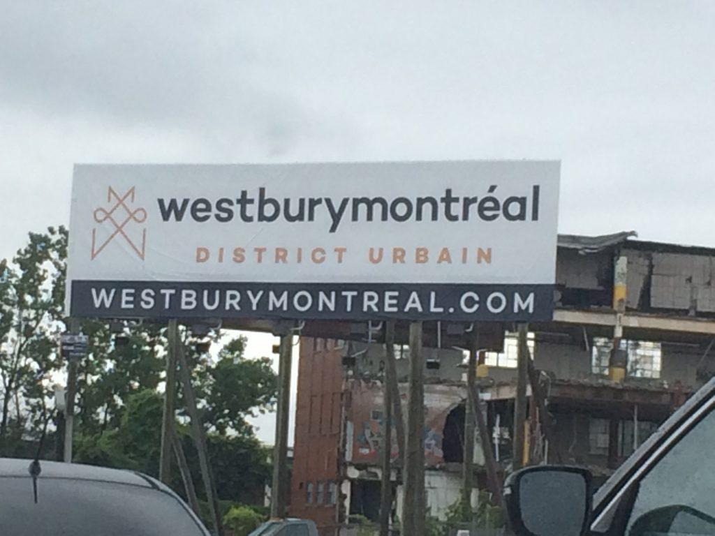 Un «district urbain» en ville / à Montréal