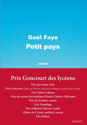 Gaël Faye, Petit pays, 2016, couverture
