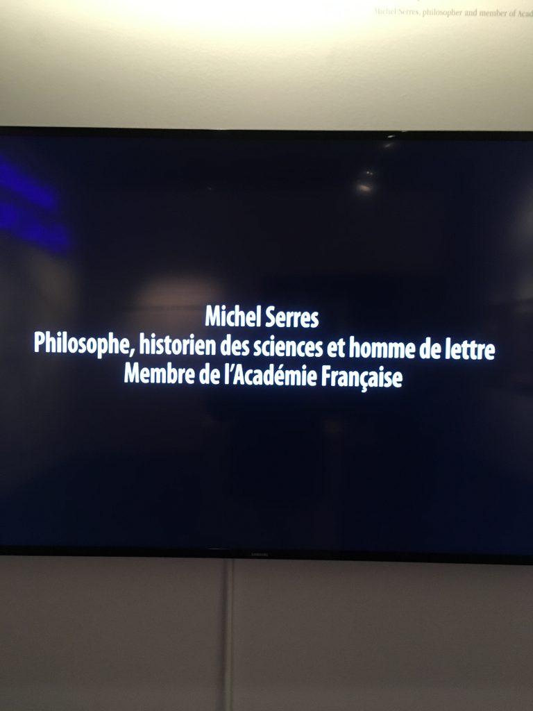 Michel Serres, homme d'une unique lettre