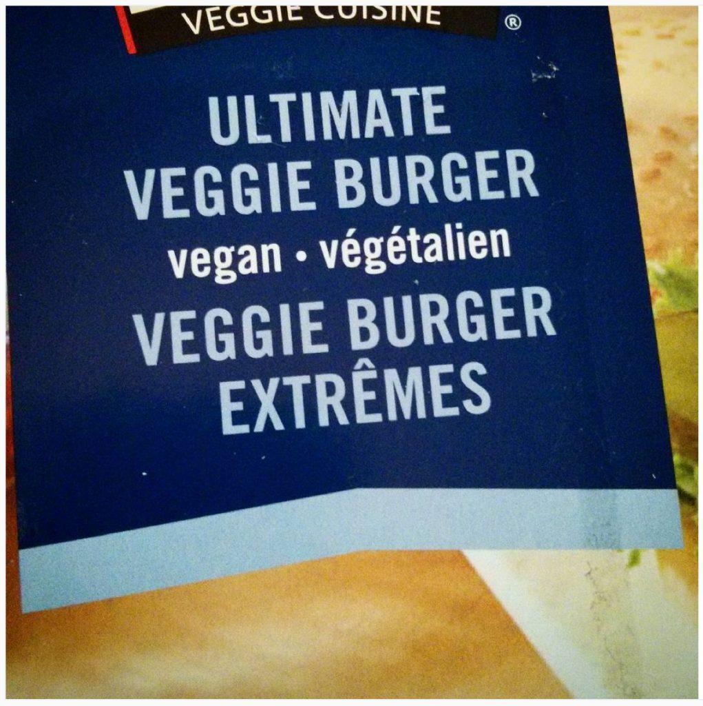«Veggie burger extrêmes», publicité