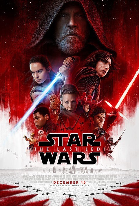 Star Wars. The Last Jedi, 2017, affiche