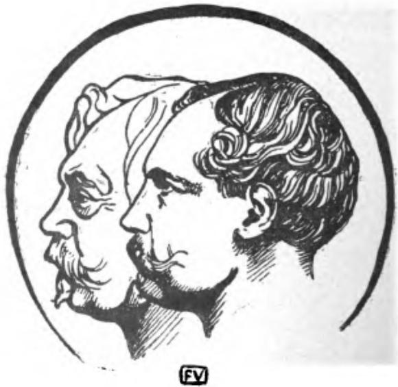 Portrait des Goncourt par Vallotton