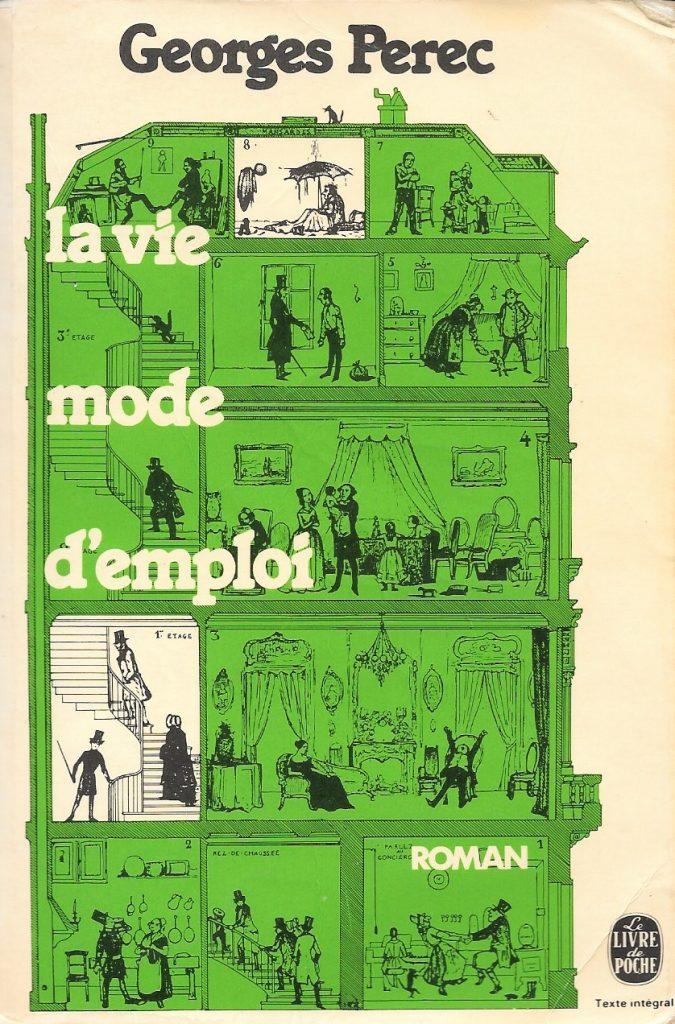Georges Perec, la Vie mode d'emploi, couverture