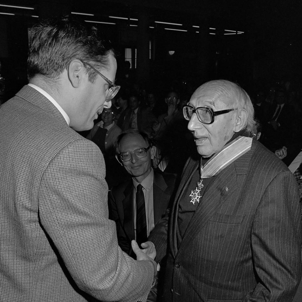 Photo de Norbert Elias en 1987