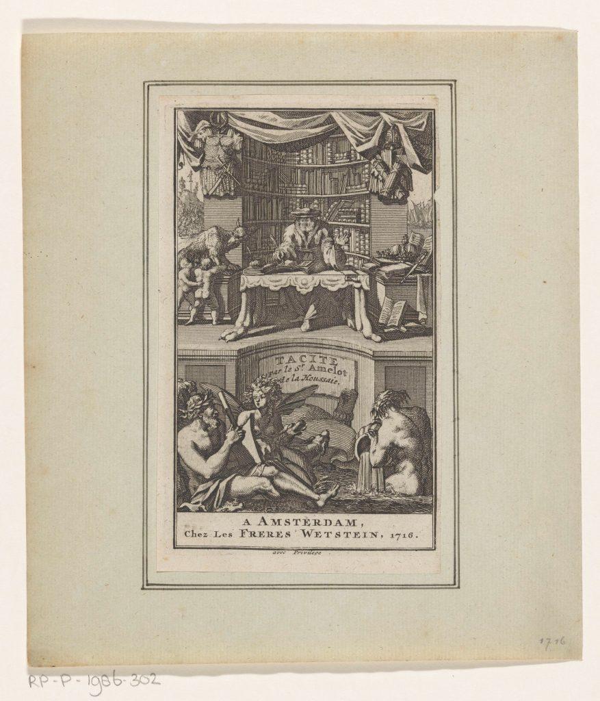 Gravure anonyme, Amsterdam, 1716