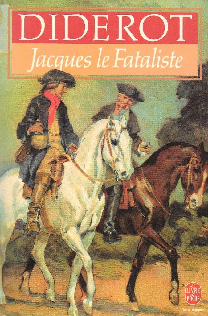 Diderot, Jacques le fataliste, éd. de 1983, couverture