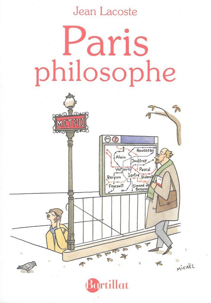 Jean Lacoste, Paris philosophe, 2018, couverture