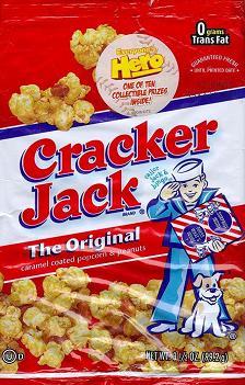 Boîte de friandises Cracker Jack
