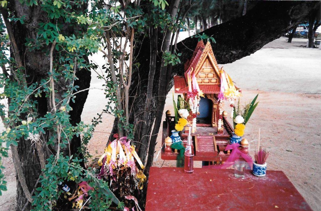 Maison des Esprits, Cha Am, Thaïlande, 7 juin 1999