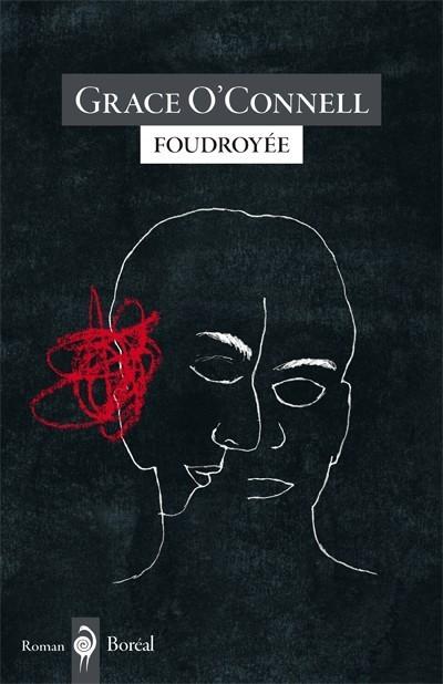 Grace O'Connell, Foudroyée, 2018, couverture