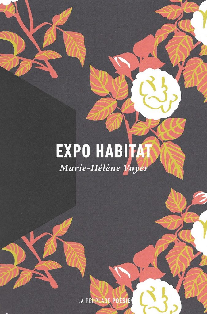 Marie-Hélène Voyer, Expo habitat, 2018, couverture