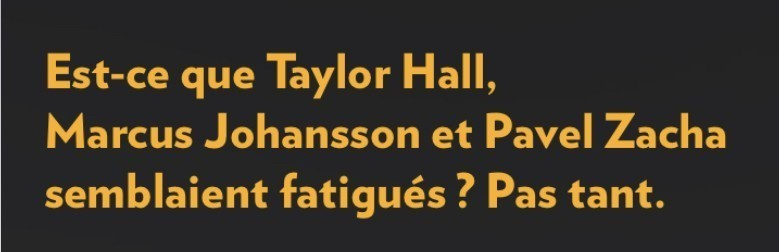 «Pas tant», la Presse+, 22 novembre 2018