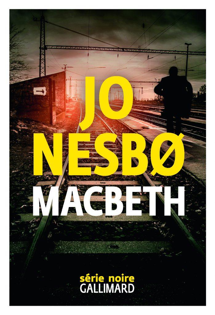 Jo Nesbø, Macbeth, 2018, couverture